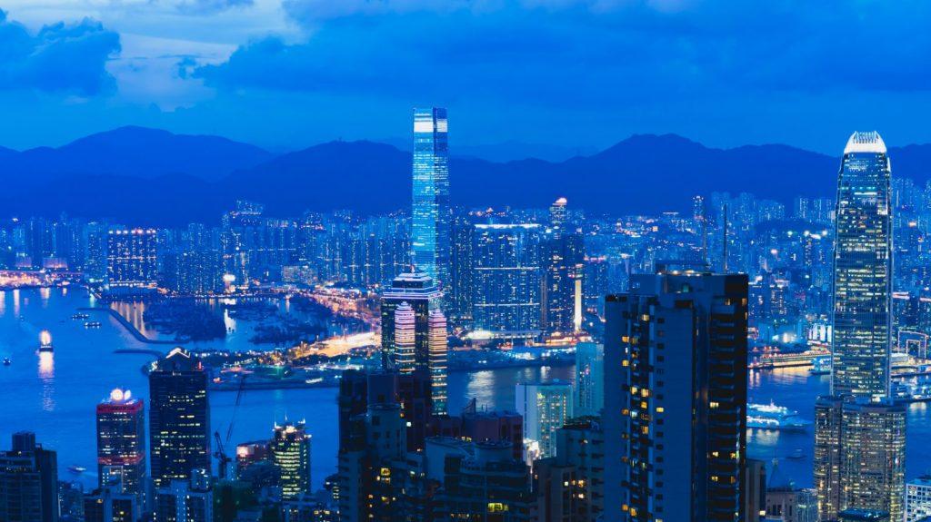 Hong Kong. From barren rock to bustling metropolis.
