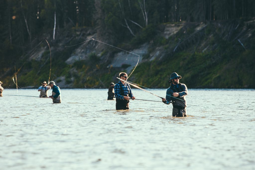 In Alaska Salmon Fishing
