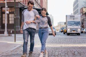 Walking in New York