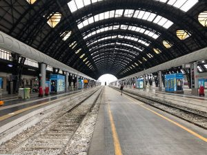 Riding the trains in Italy