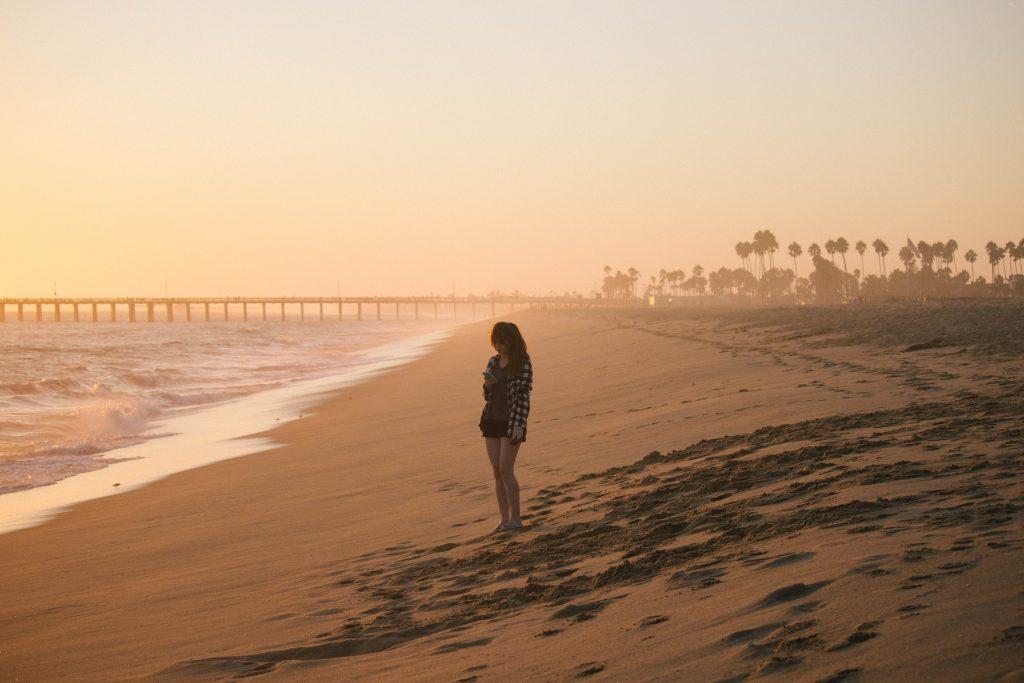 Balboa Beach In Newport Beach Peninsula