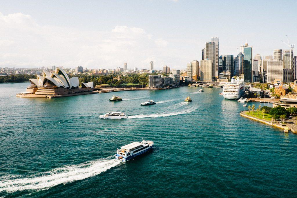Travel to Australia's east